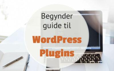 Begynder guide til WordPress plugins